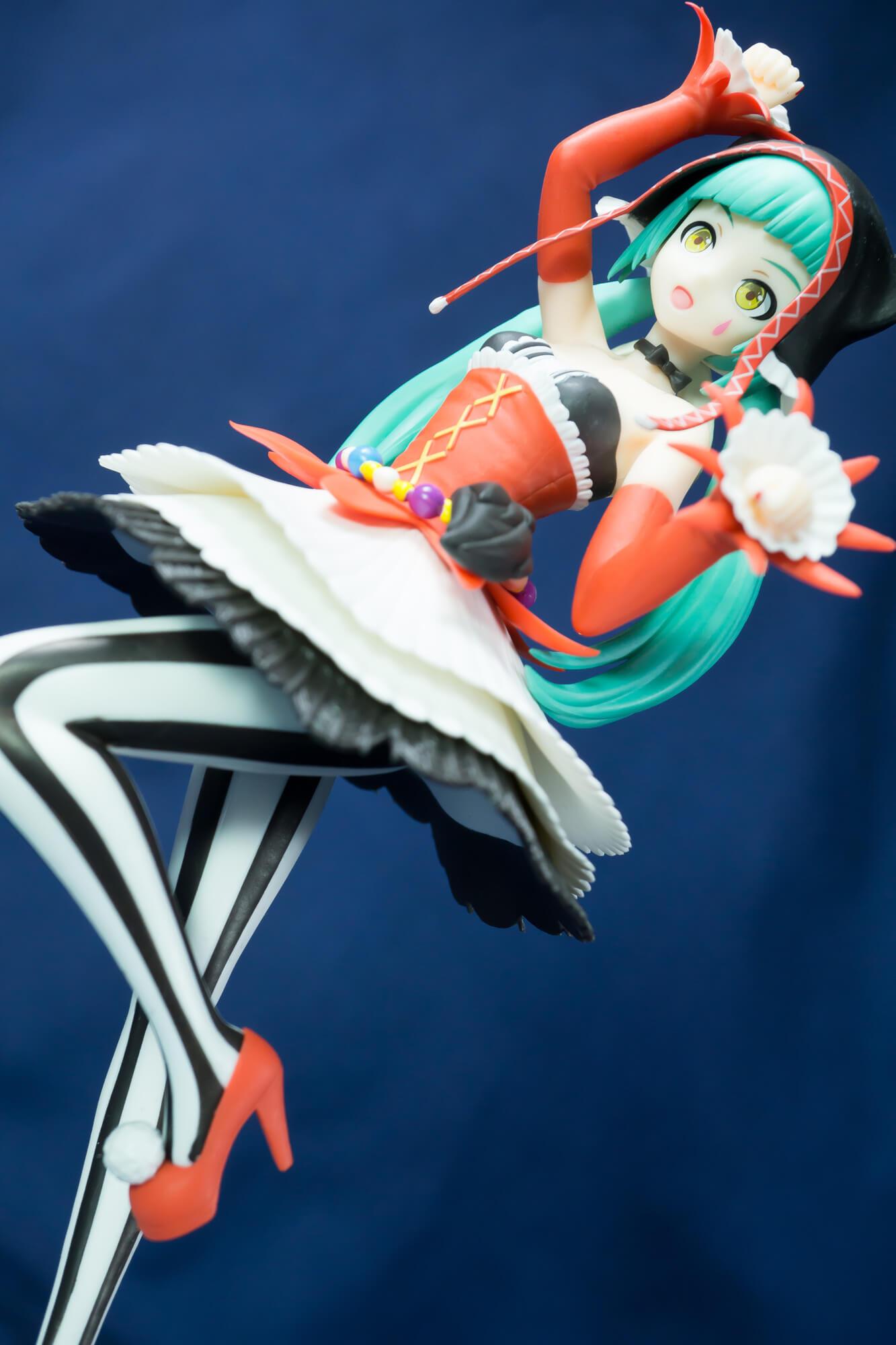 """【フィギュアレビュー】初音ミク Project DIVA Arcade Future Tone SPMフィギュア""""初音ミク-ピエレッタ"""""""