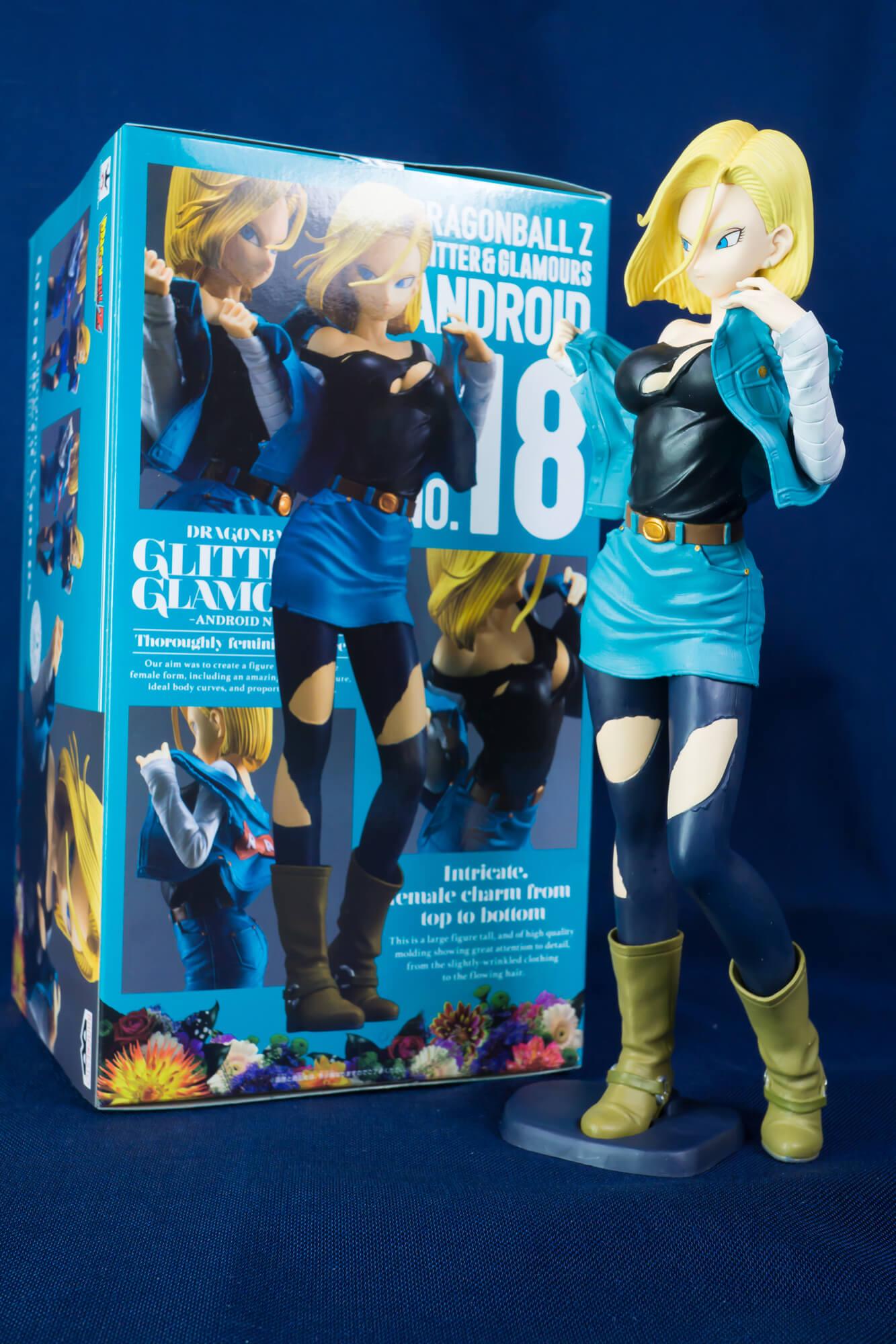 【フィギュアレビュー】ドラゴンボールZ GLITTER&GLAMOURS-ANDROID NO.18-