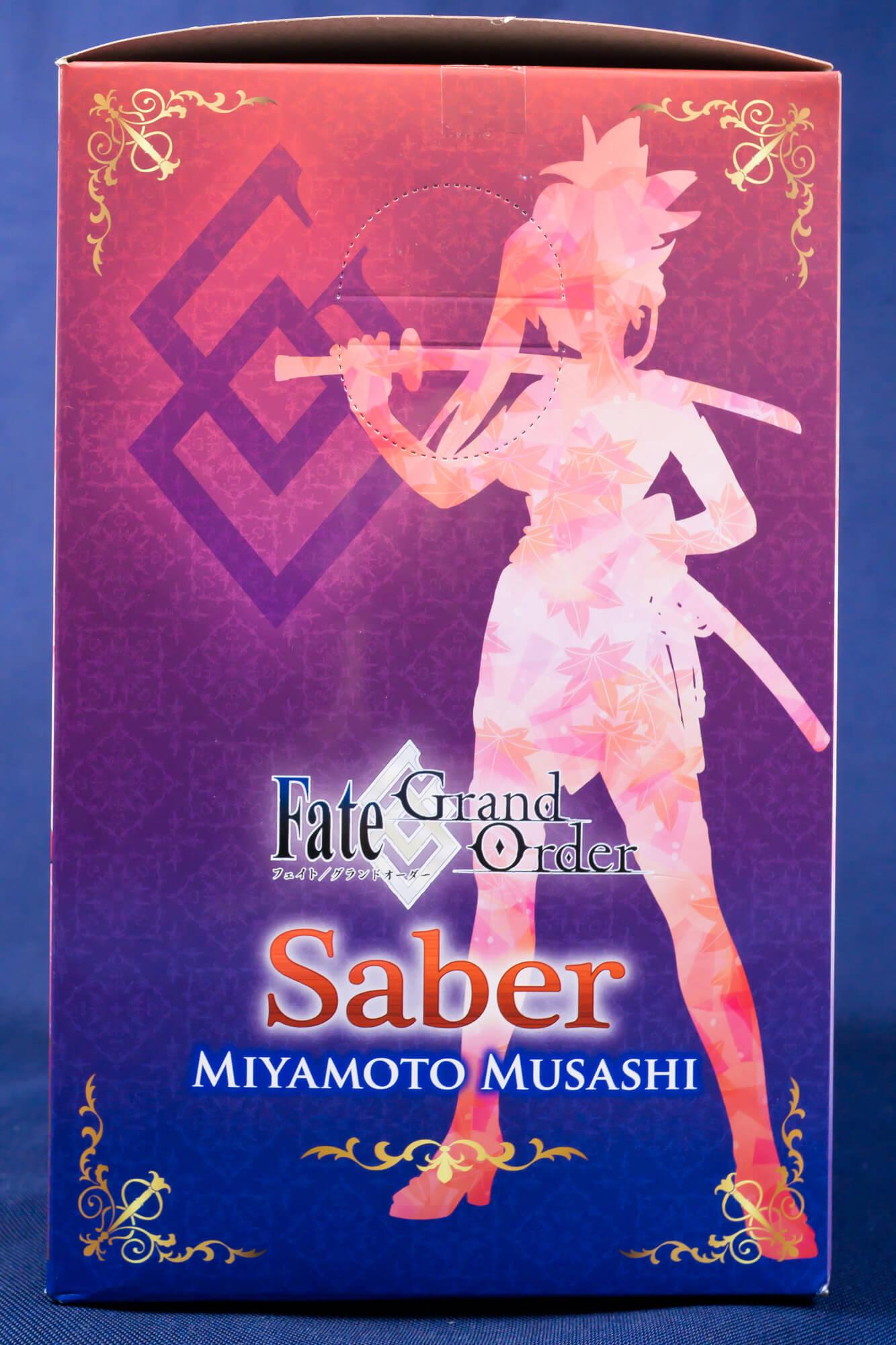 【フィギュアレビュー】Fate/Grand Order サーヴァントフィギュア~セイバー/宮本武蔵~